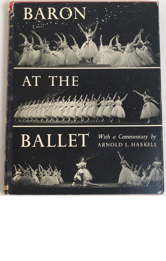 "Vintage 1951 Book ""Baron at the Ballet"""