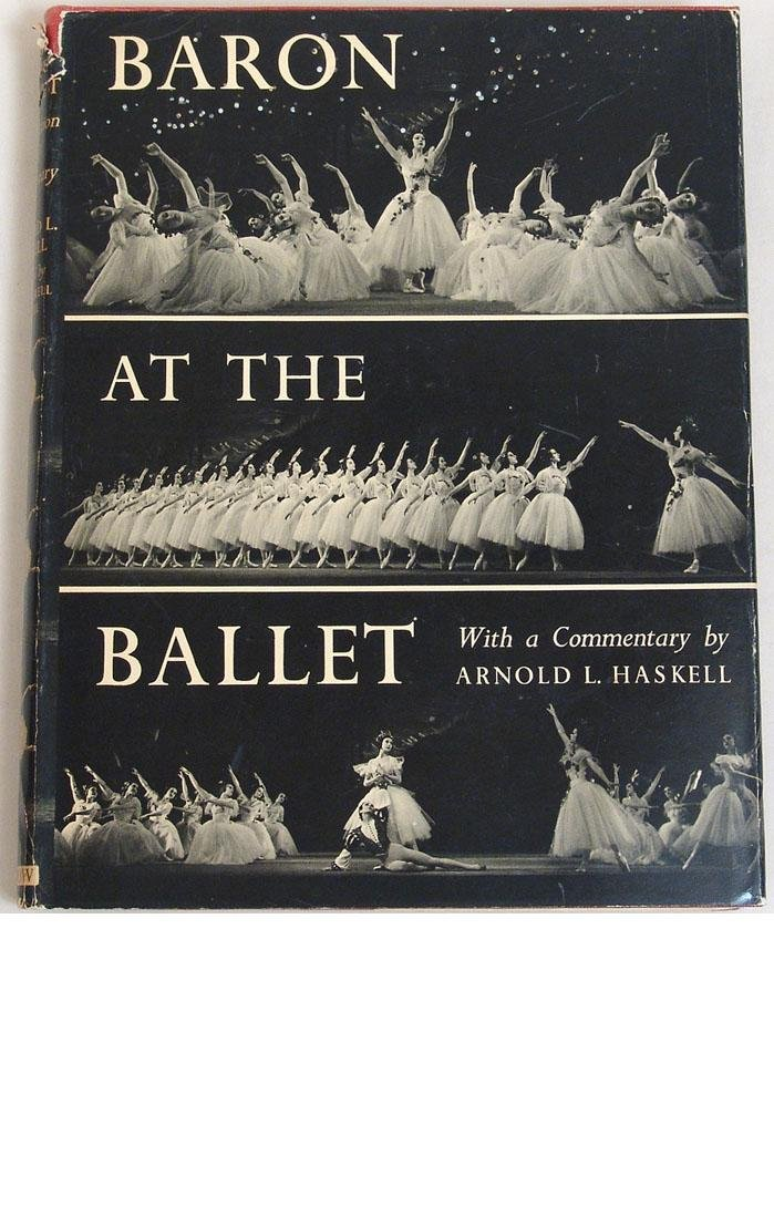 "Vintage 1951 Book ""Baron at the Ballet"""