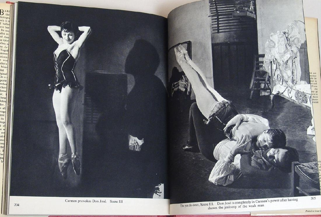 "Vintage 1951 Book ""Baron at the Ballet"" - 2"