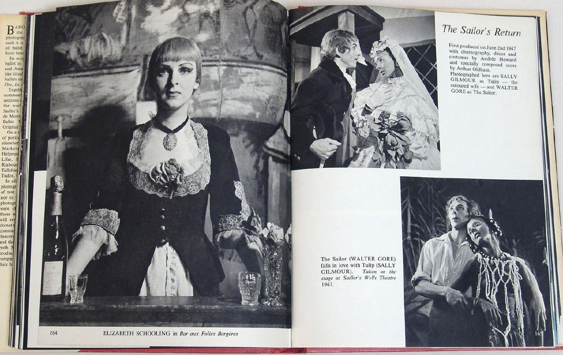 "Vintage 1951 Book ""Baron at the Ballet"" - 4"