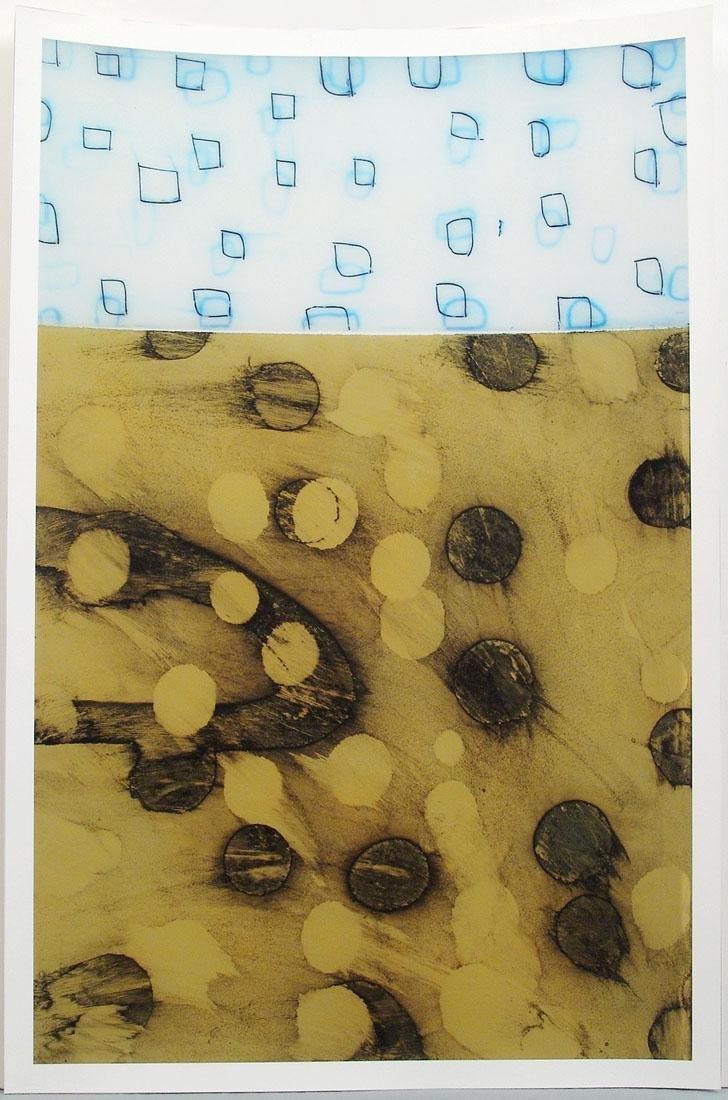 Original Modern Abstract Screen Print by Martin Quen