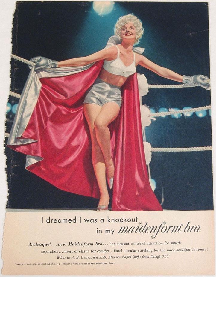 Vintage 1940s/1950s Maidenform Bra Fantasy Ads - 3