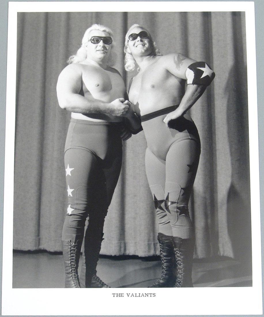 """The Valiants"" Vintage 1970s Wrestling Promo Photo"