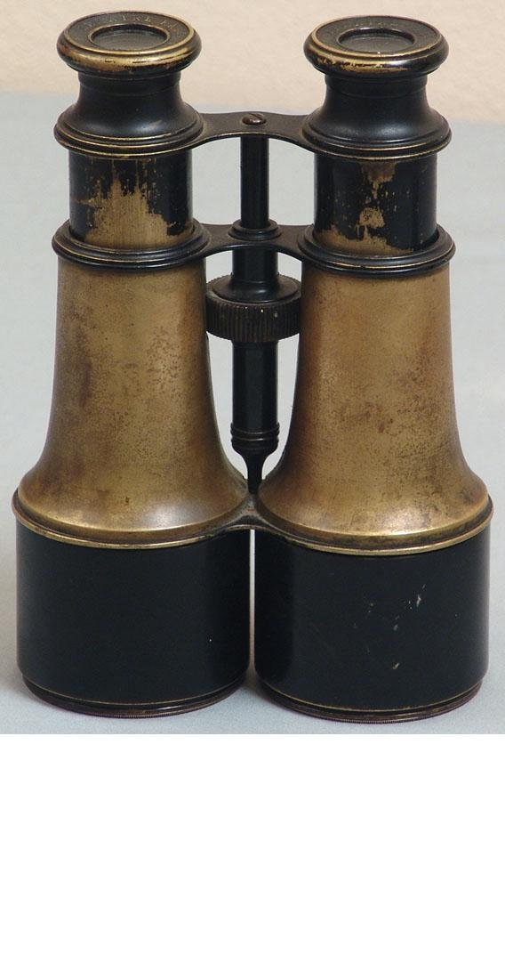 Pair of Antique Military Binoculars - Lemaire Paris