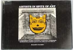 Vintage 1970 Book Artists in Spite of Art