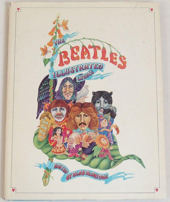 """Vintage 1969 Book """"The Beatles Illustrated Lyrics"""""""