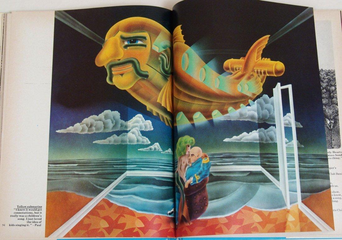 """Vintage 1969 Book """"The Beatles Illustrated Lyrics"""" - 2"""