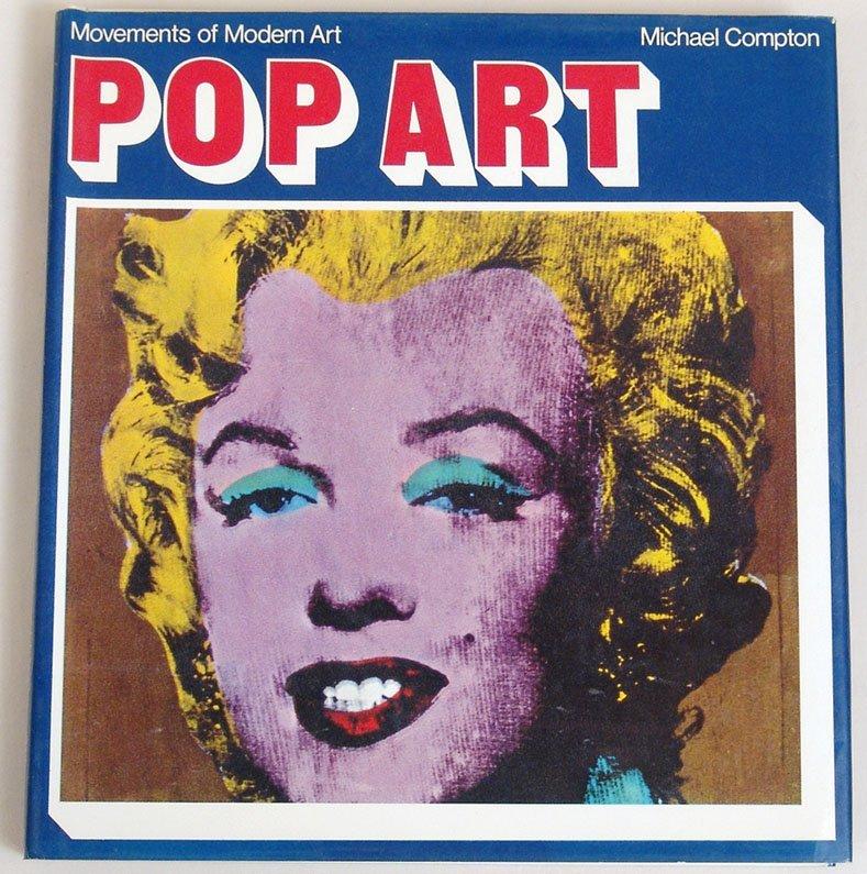 "Vintage 1970 Book ""Pop Art"" - ""Movements of Modern Art"""