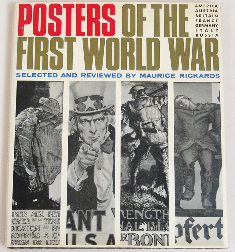 "Vintage 1968 Book ""Posters of the First World War"""