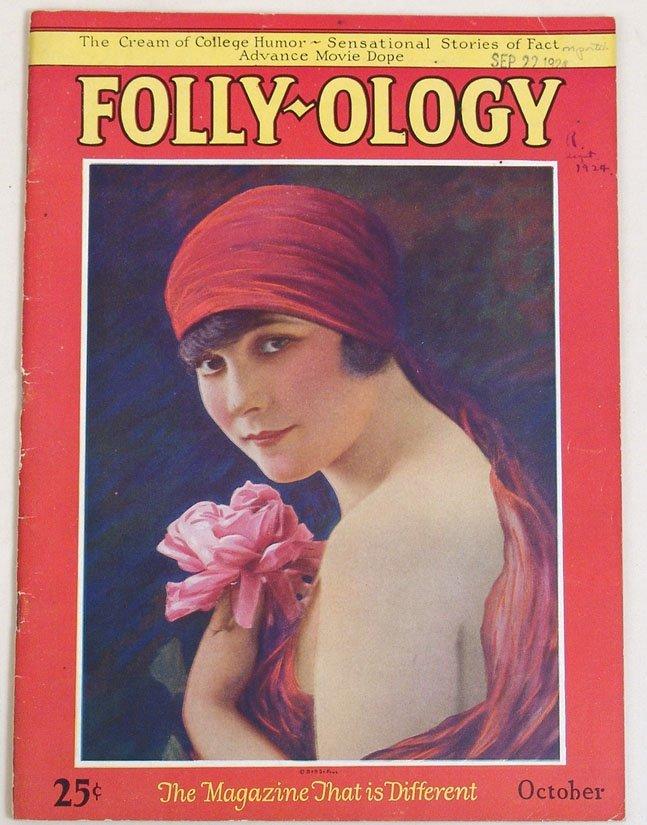 "Antique 1924 ""Folly-ology"" Magazine"