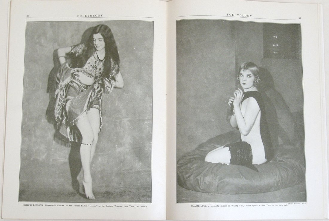"Antique 1924 ""Folly-ology"" Magazine - 2"