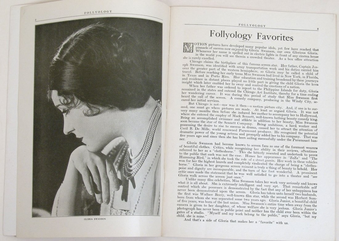 "Antique 1924 ""Folly-ology"" Magazine - 5"