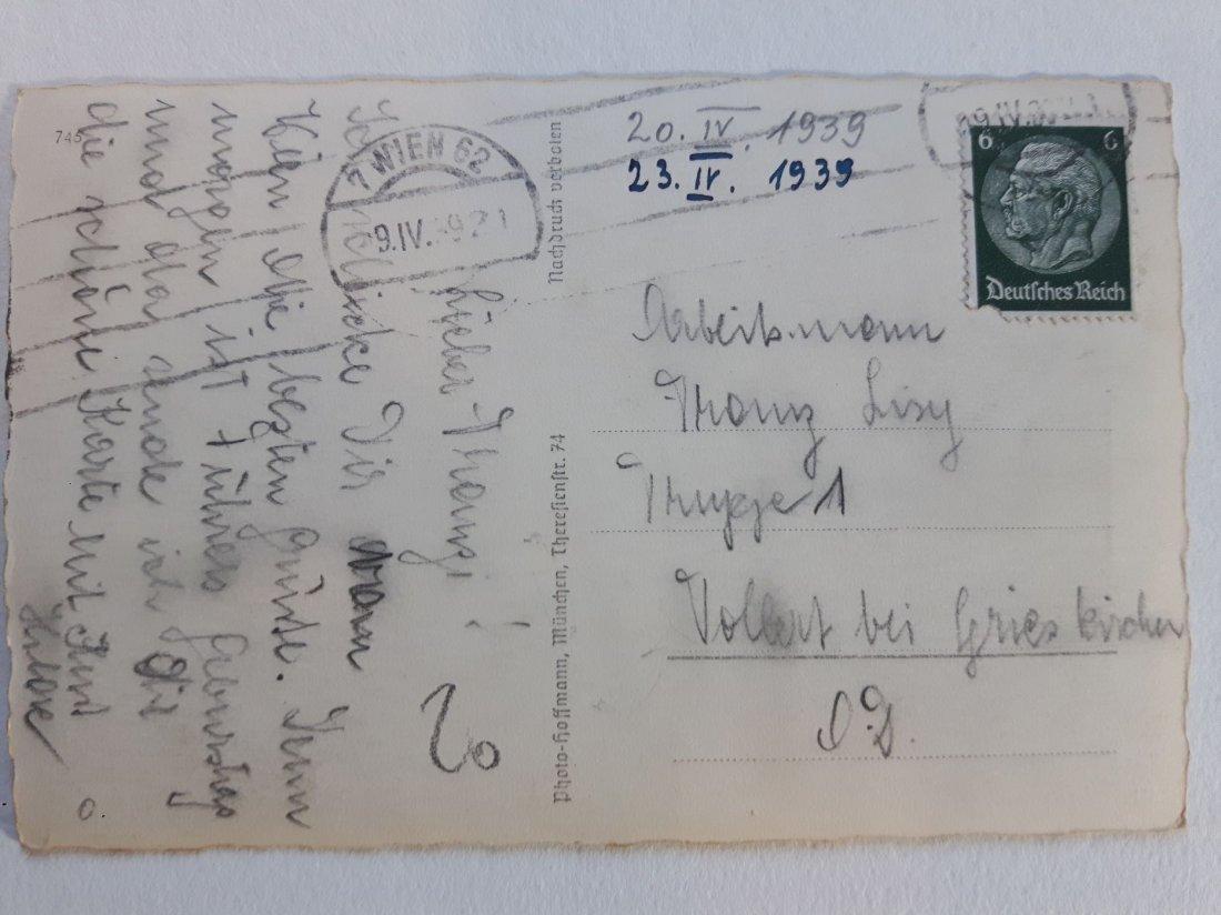 WWII THIRD REICH HEINRICH HOFFMANN HITLER PHOTOGRAPHY - 2