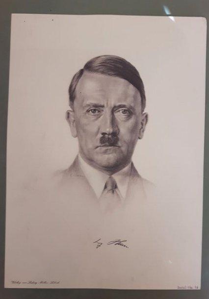 Adolf Hitler original  Litho Ludwig Möller Militaria