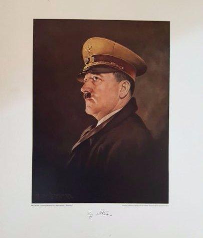 Adolf Hitler original large print Heinrich Hoffmann