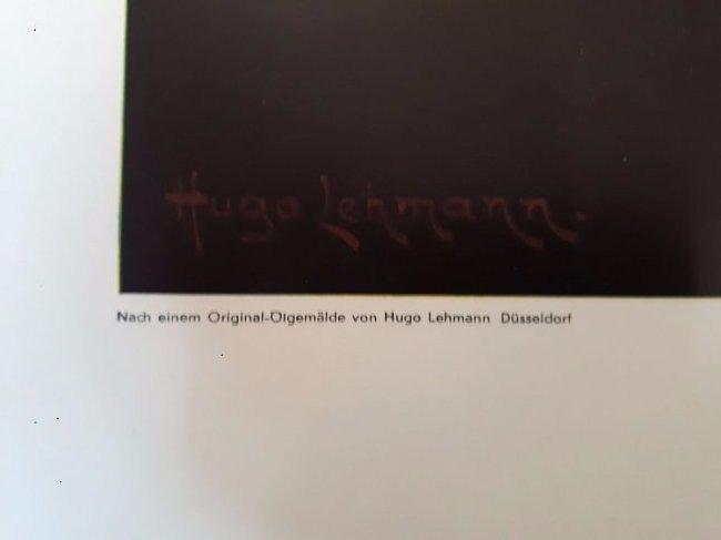 Adolf Hitler original large print Heinrich Hoffmann - 3