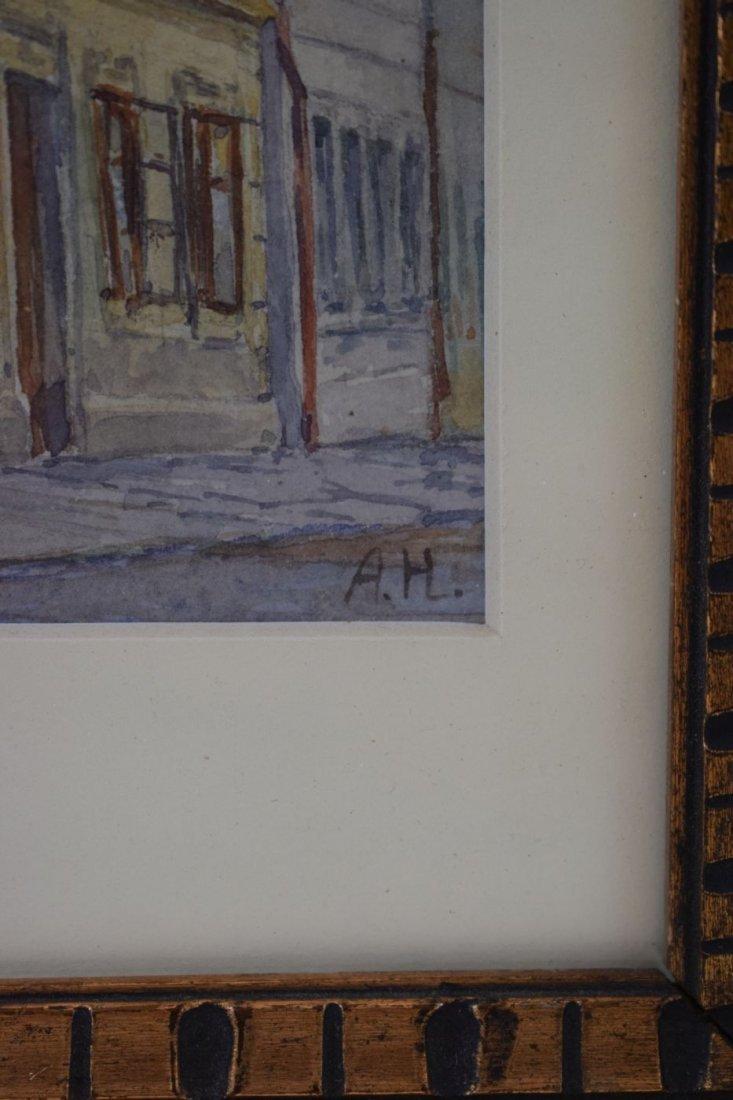 Adolf Hitler Watercolor Painting –  Wine Tavern - 5