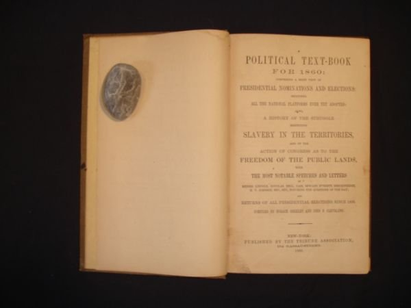 1011: A Political Text-Book for 1860