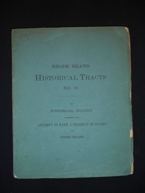 1017: Rhode Island Historical Tracts No. 10