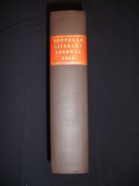 1021: Southern Literary Journal, Jan - Sept. 1838