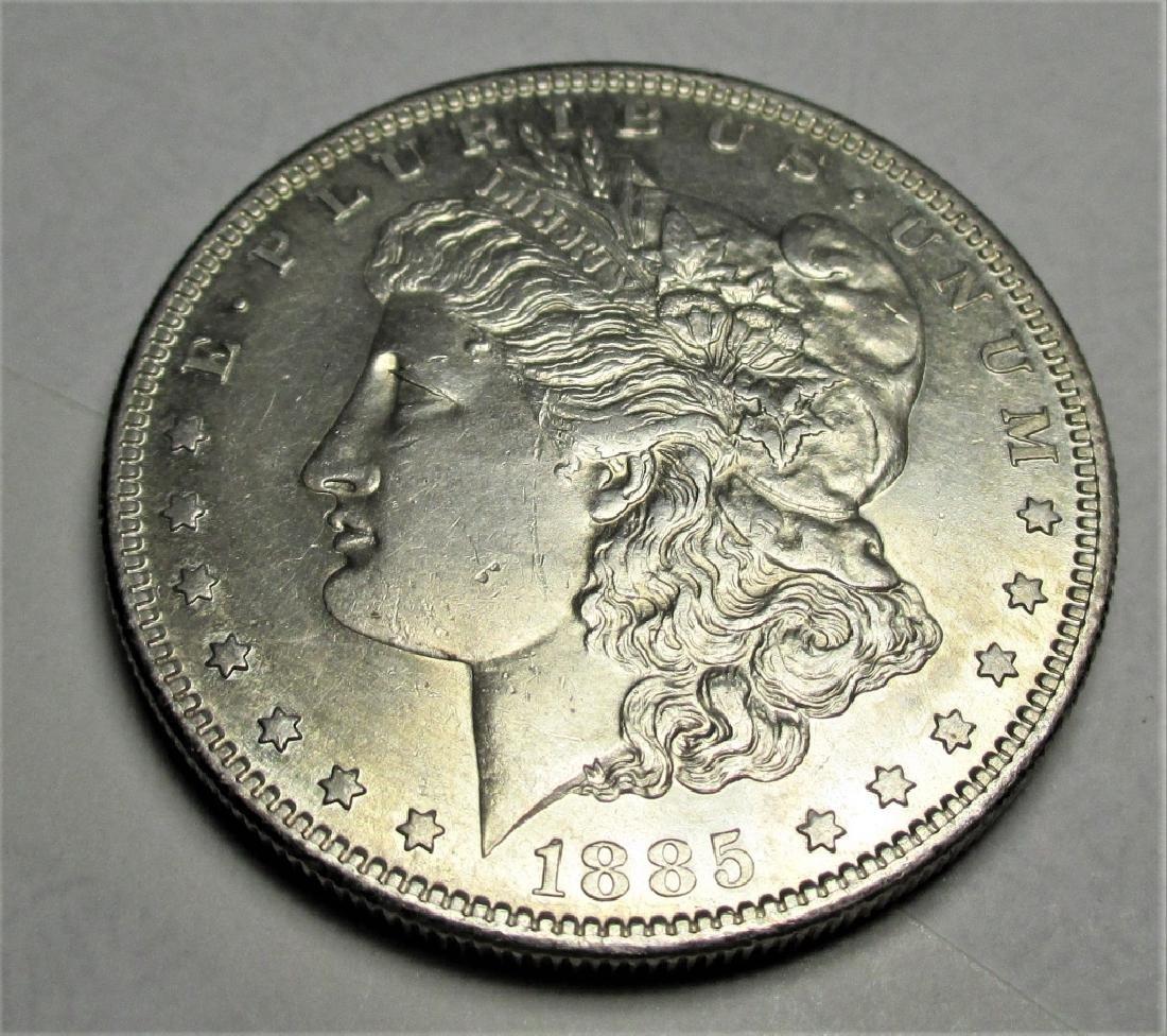 1885 S key Date Morgan Silver Dollar
