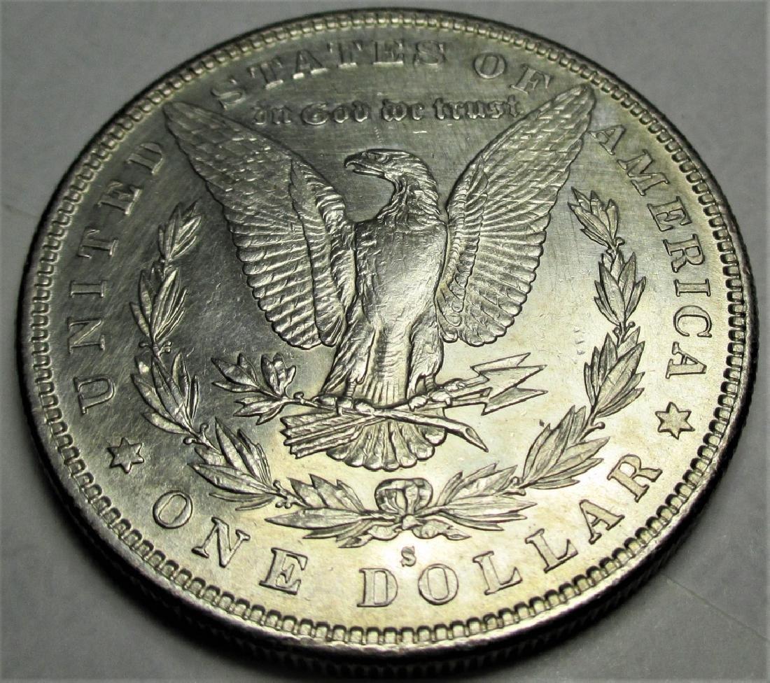 1885 S key Date Morgan Silver Dollar - 2