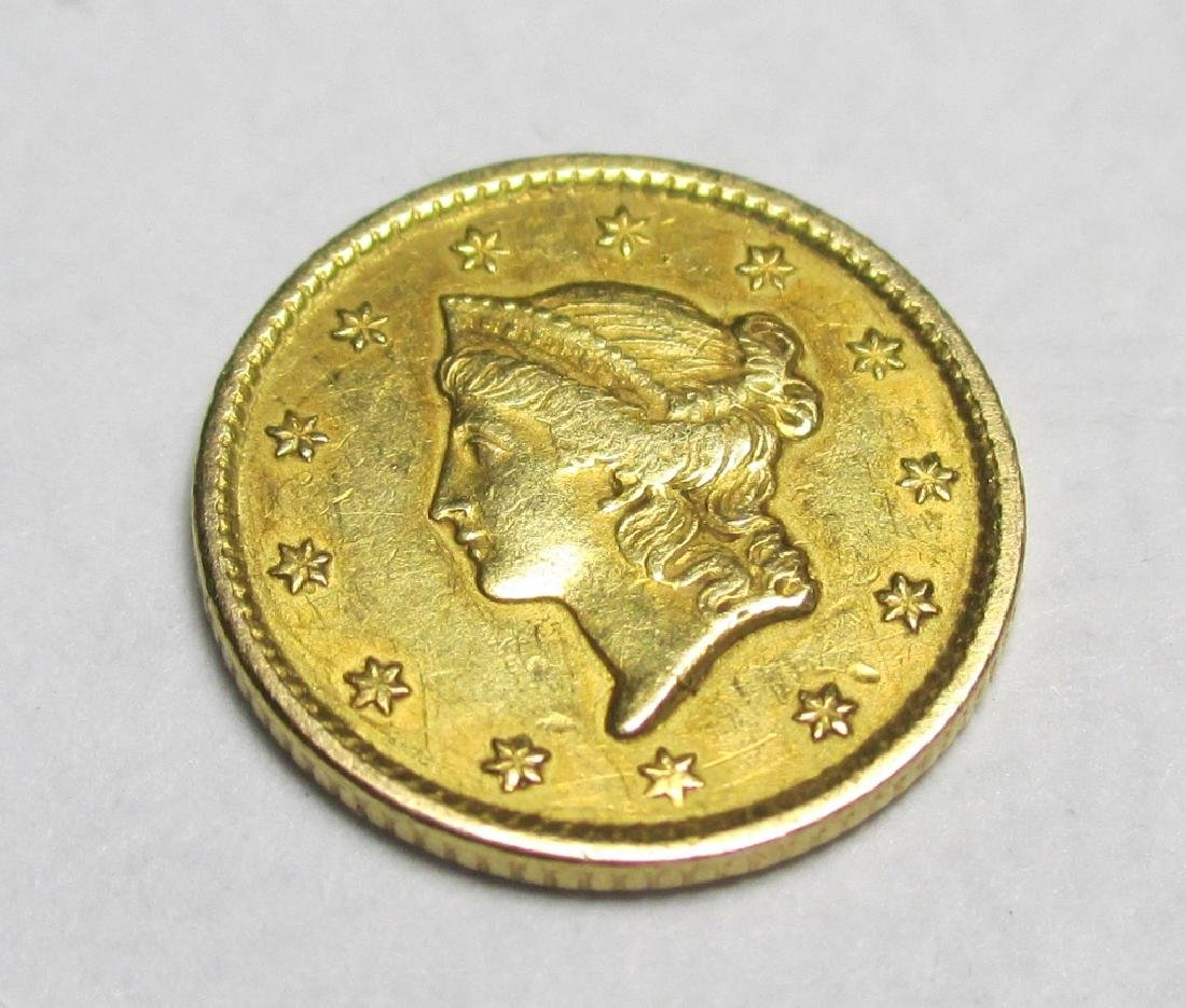 1850 Type 1 Gold Liberty $1 - 2