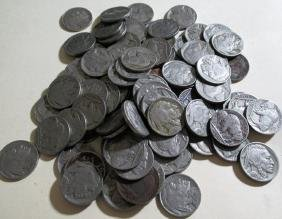 Lot of (100) Buffalo Nickles - Various Dates