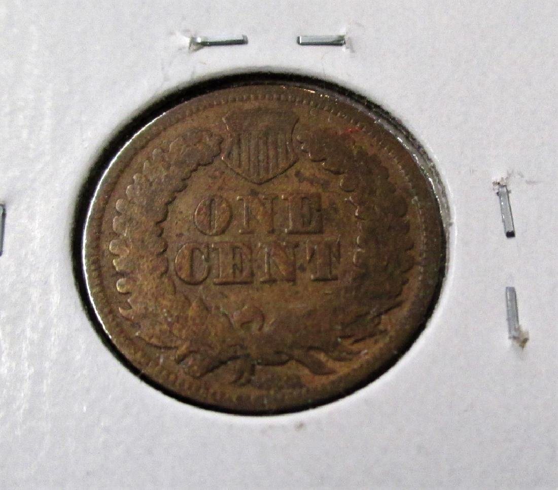 1864 L Pointed Bust Indian Head Cent - 2