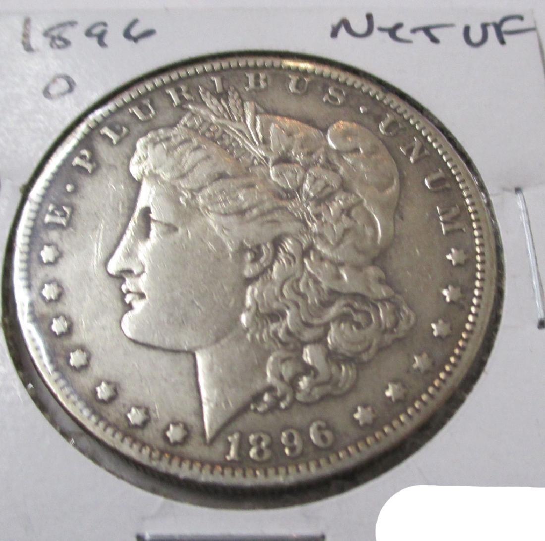 1896 O Key Date Morgan Silver Dollar