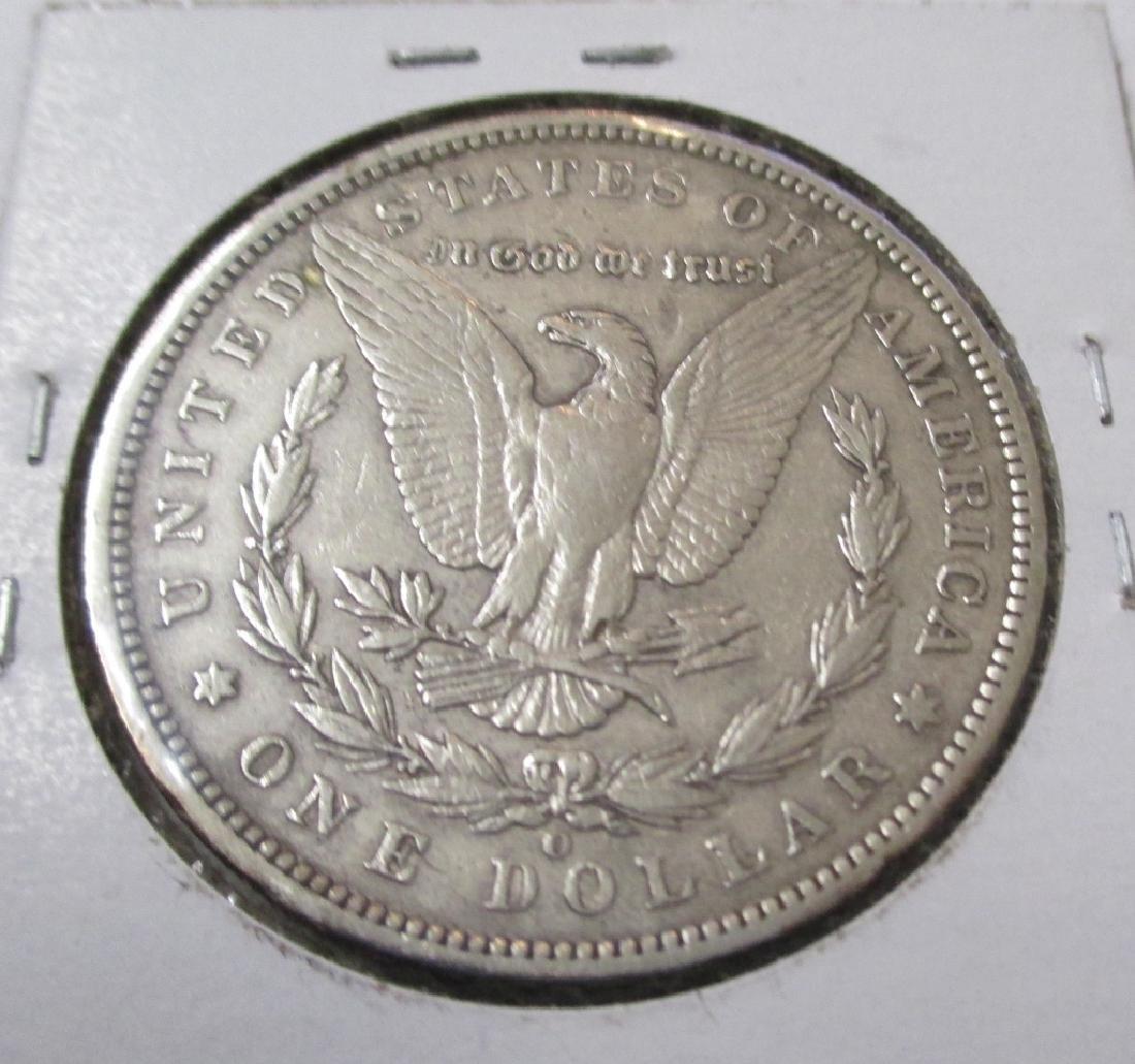1896 O Key Date Morgan Silver Dollar - 2