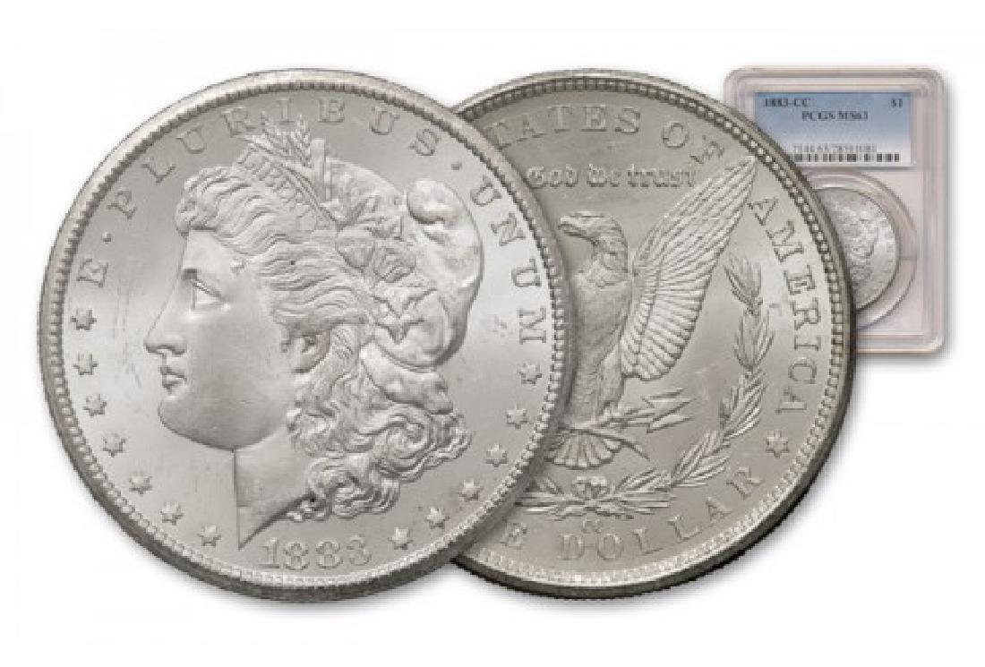 1883 Carson City Morgan Dollar MS 63 PCGS