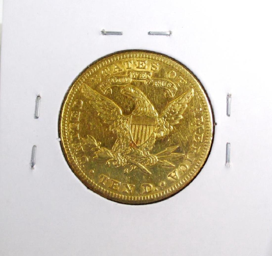 1887 S Better Date  10 Gold Liberty Eagle - 2