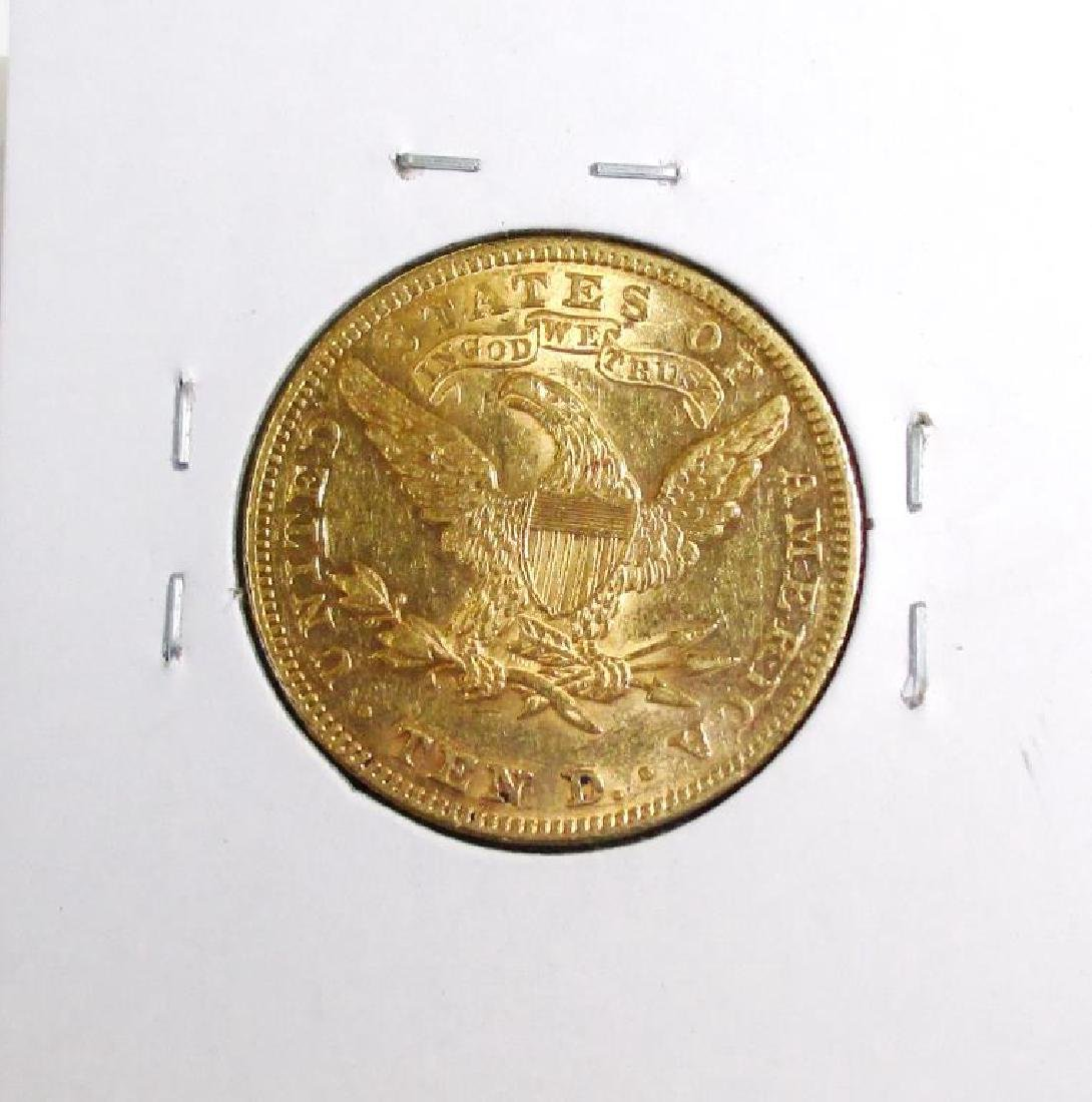 1898  10 Gold Liberty Eagle - 2