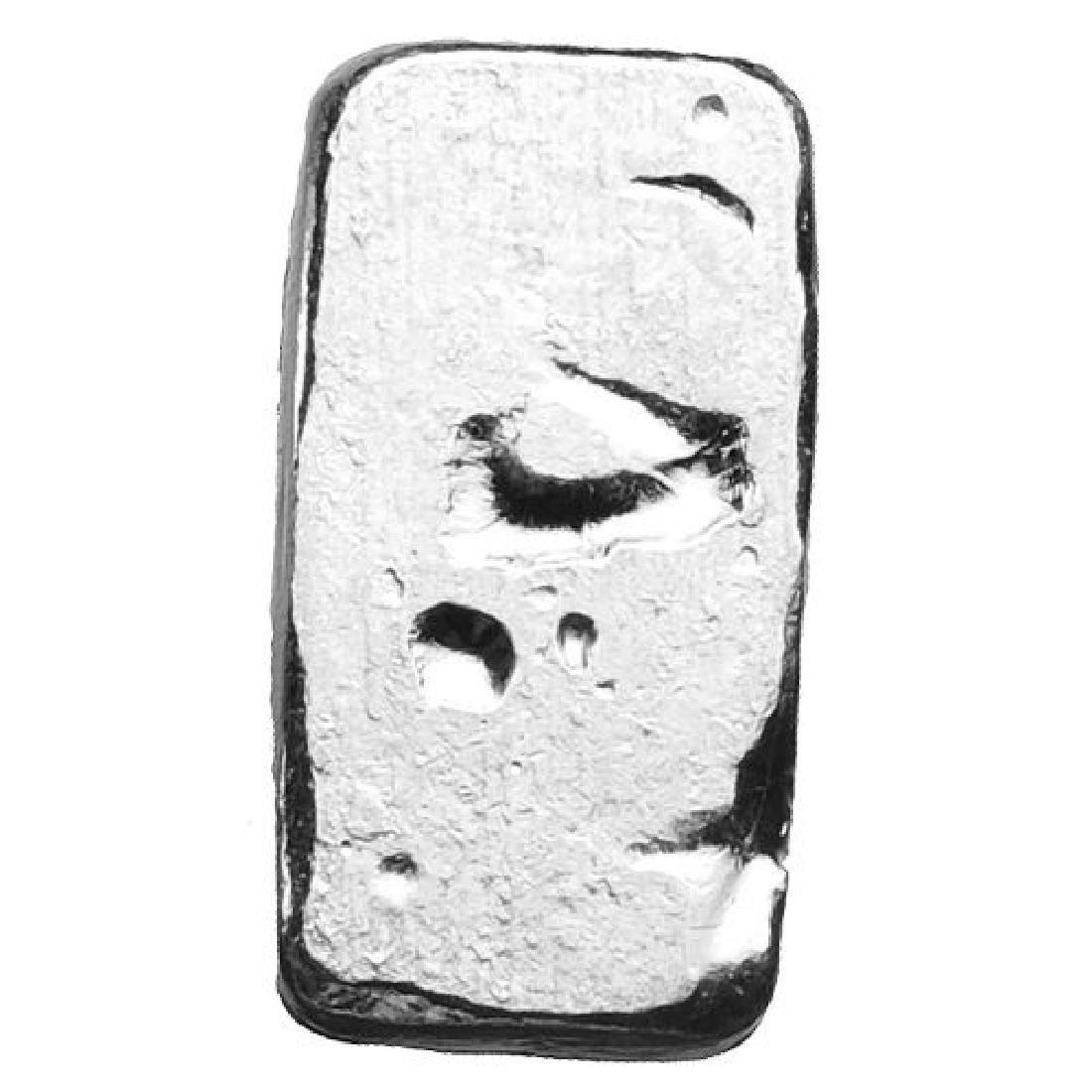 1 oz Silver Crossbones - Poured Silver - .999 - 2