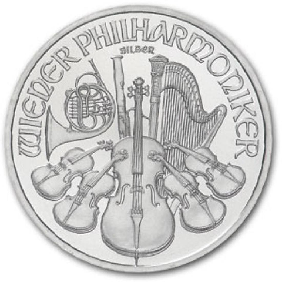 1 oz. Random Date Silver Austrian Philharmonic