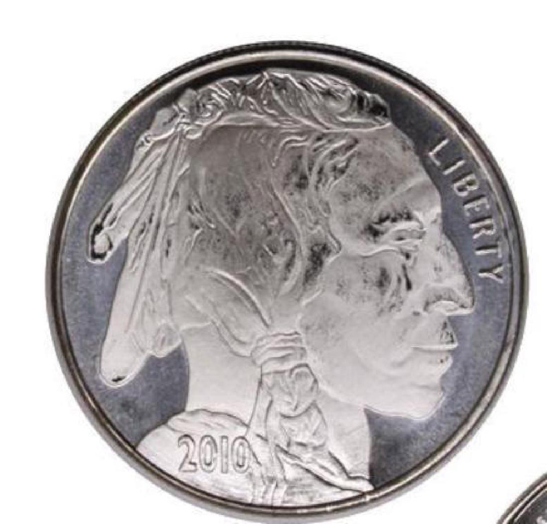 1 oz. Silver Buffalo Design Round - .999 Pure - 2