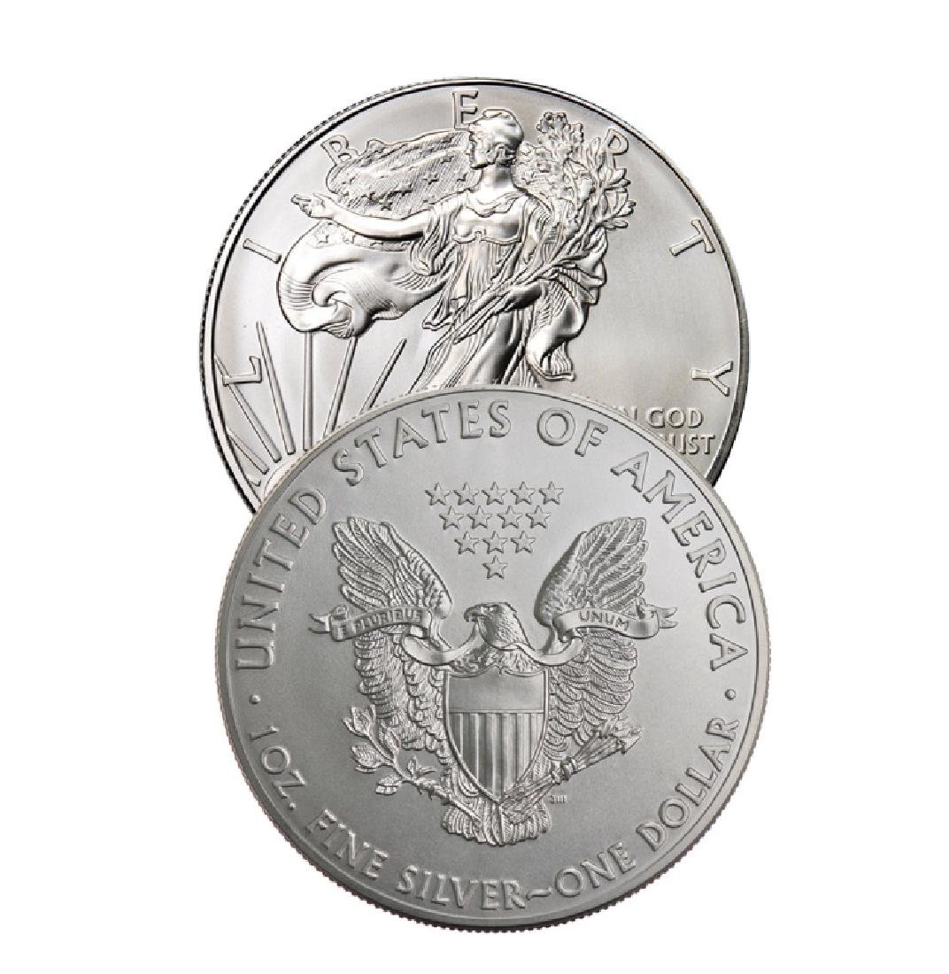Random Date US Silver Eagle 1 oz.