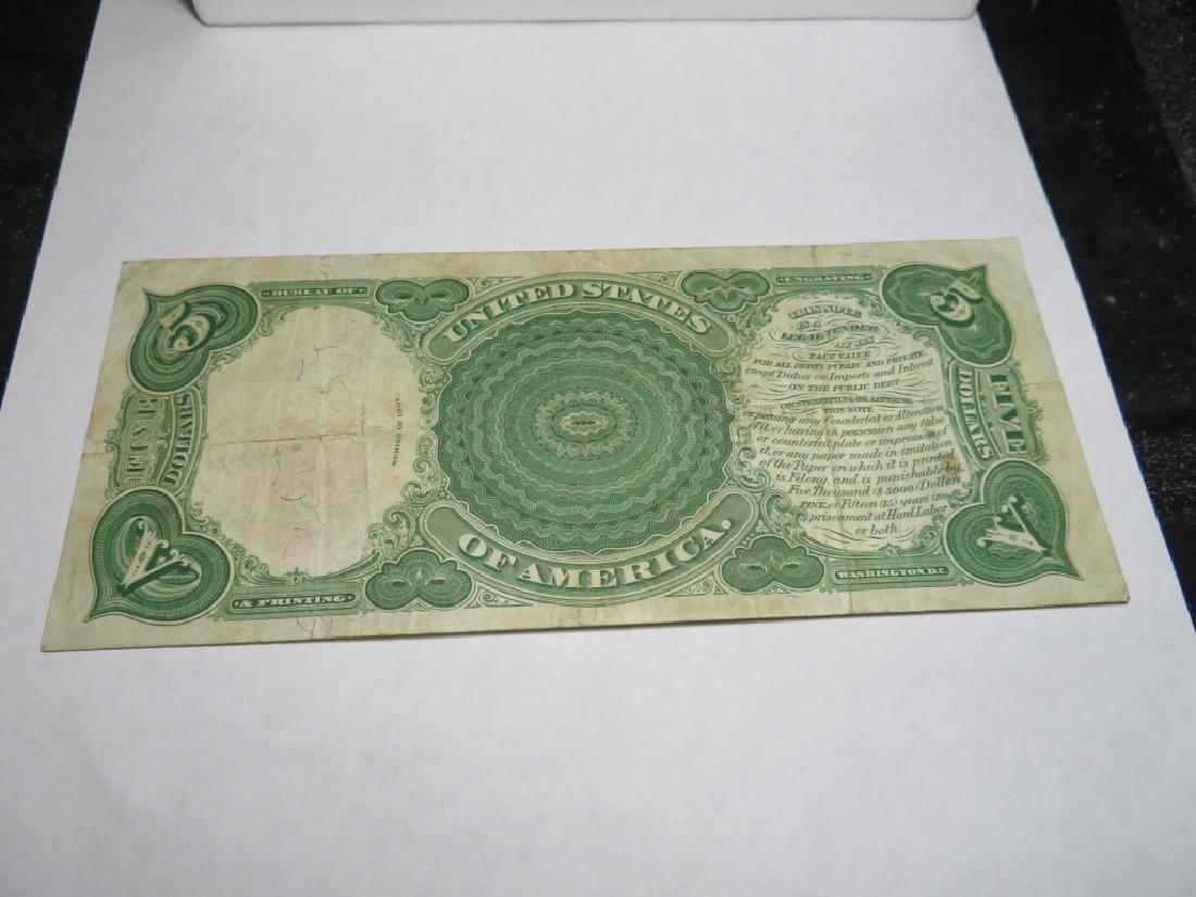 "Series 1907 ""Woodchopper""  $5 US Note - 4"