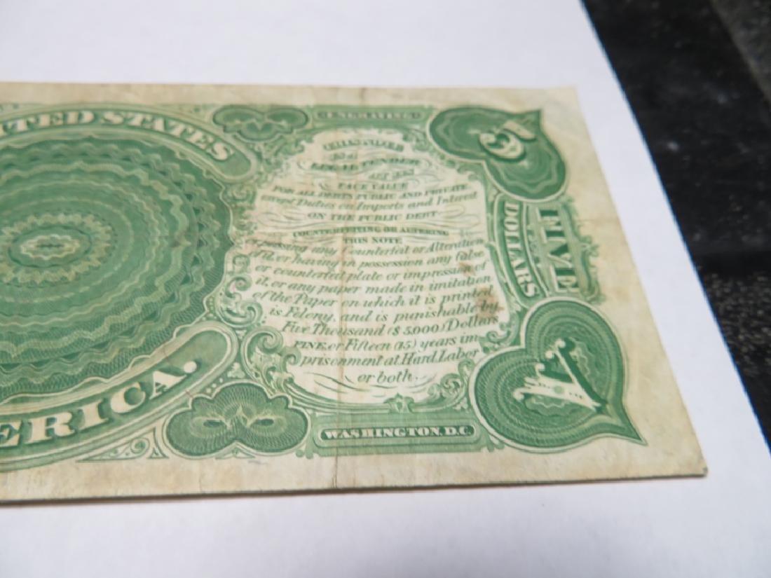 "Series 1907 ""Woodchopper""  $5 US Note - 5"