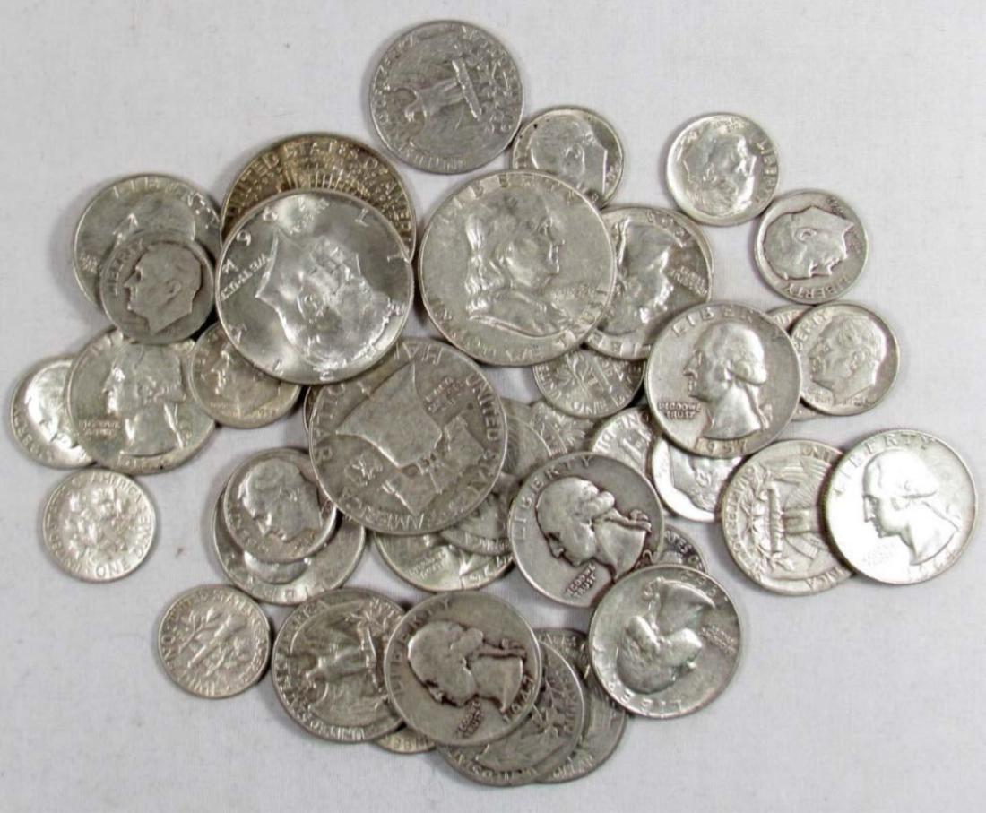 $5 Face Value -90% Silver Random Mixed Lot - 2
