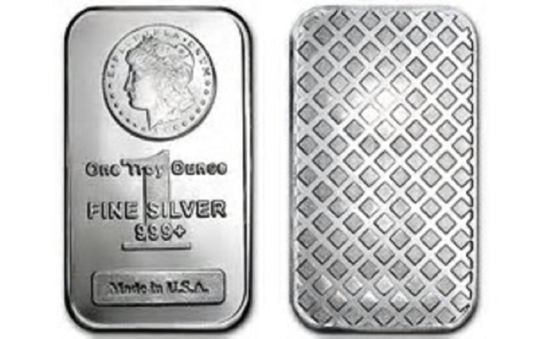 1 oz Morgan Design Silver bar - 2