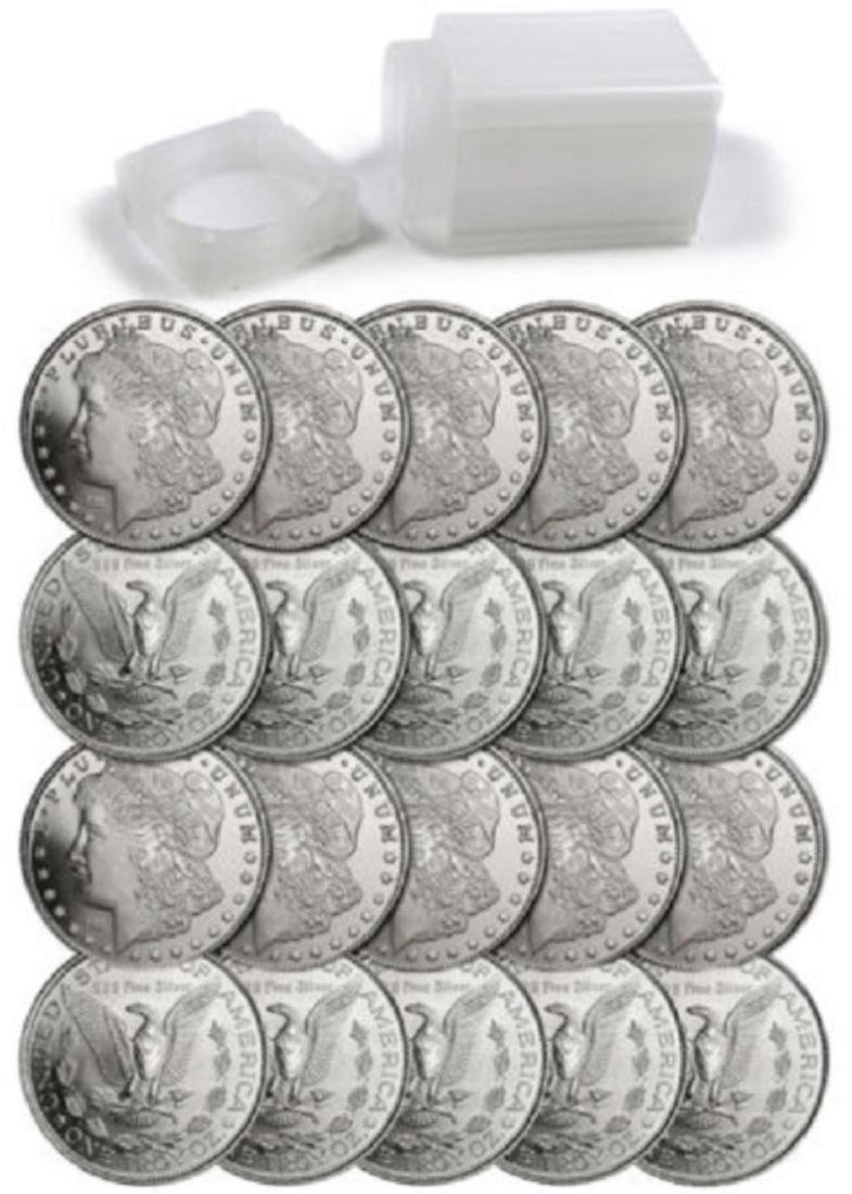 1 oz. Silver Morgan Design - .999 Pure - 2