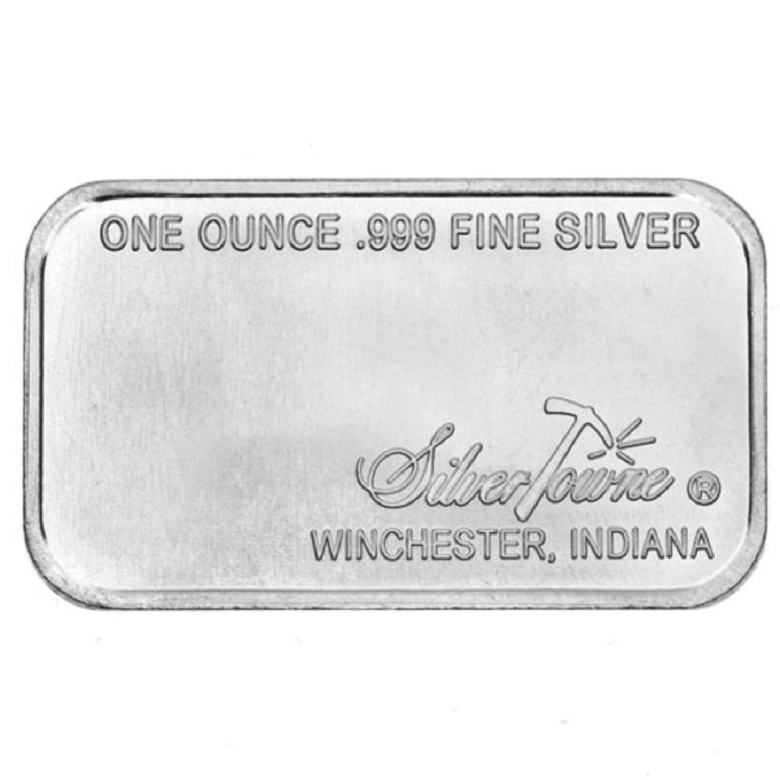 1 oz.  Prospector Silver Bar -.999 pure - 2