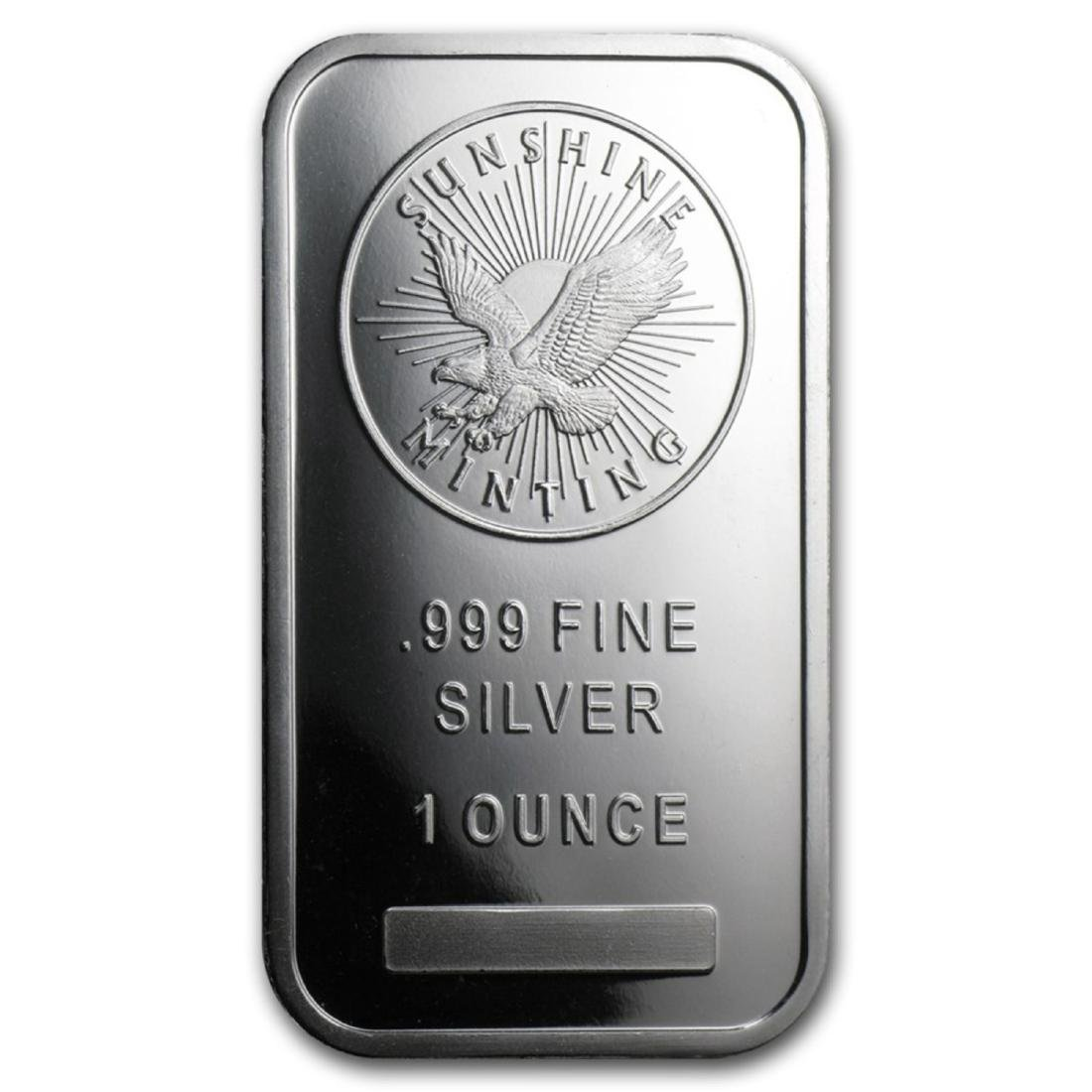 1 oz Silver Sunshine Silver Bar