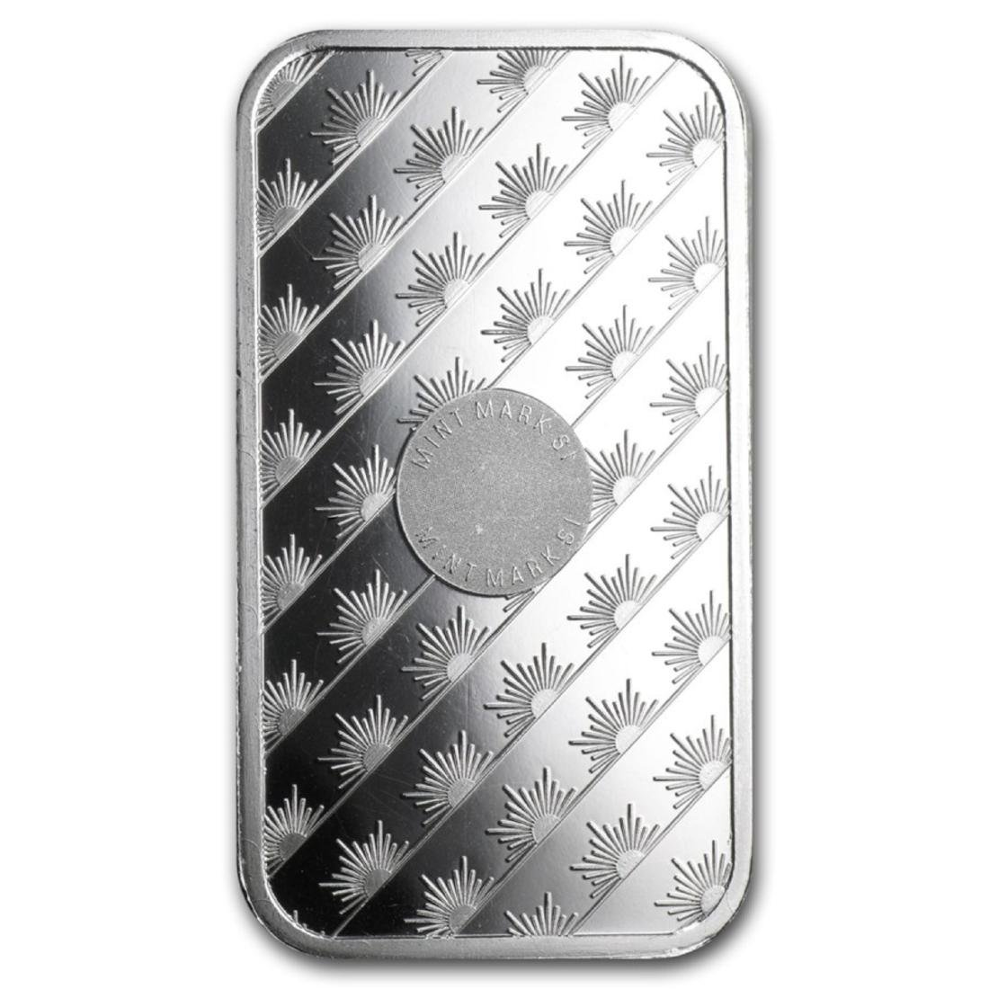 1 oz Silver Sunshine Silver Bar - 2
