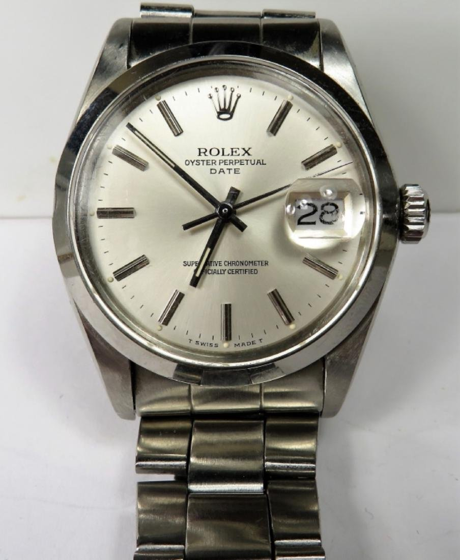 Authentic ROLEX DATE Oyster - S/S