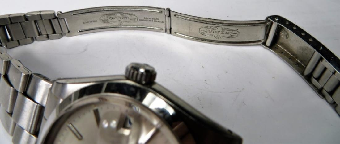 Authentic ROLEX DATE Oyster - S/S - 3
