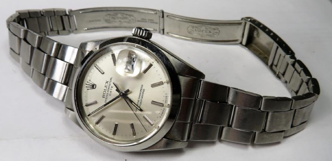 Authentic ROLEX DATE Oyster - S/S - 4