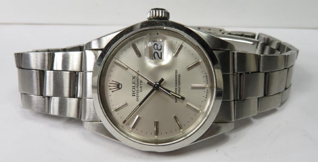 Authentic ROLEX DATE Oyster - S/S - 6
